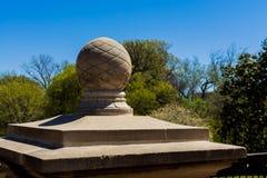 Ornamental Stairhead сада Стоковое фото RF