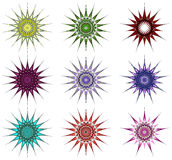 Ornamental stars Royalty Free Stock Photography