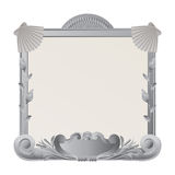 Ornamental stone frame Royalty Free Stock Image