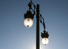Ornamental street lamp Royalty Free Stock Images