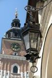 Ornamental street lantern stock photo
