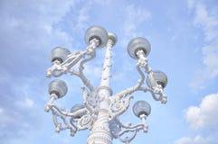 Ornamental streetlight Stock Images