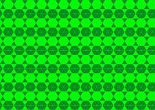 Ornamental Techno геометрический восточный в неоновых обоях предпосылки картины зеленого цвета безшовных иллюстрация вектора