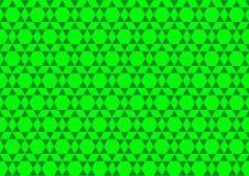 Ornamental Techno геометрический восточный в неоновых обоях предпосылки картины зеленого цвета безшовных иллюстрация штока