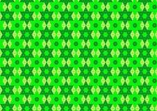 Ornamental Techno геометрический восточный в неоновых обоях предпосылки картины зеленого и мягкого желтого цвета безшовных бесплатная иллюстрация