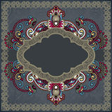 Ornamental template Royalty Free Stock Photography