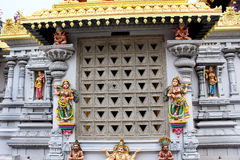 Ornamental temple facade Royalty Free Stock Image