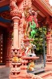 Ornamental temple pillar Stock Photography