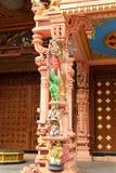 Ornamental temple pillar Stock Images