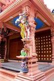 Ornamental temple pillar Royalty Free Stock Photo