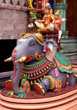Ornamental temple statue Royalty Free Stock Image