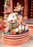 Ornamental temple statue Royalty Free Stock Photos