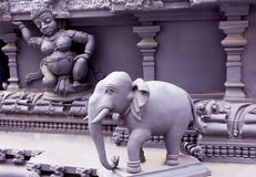 Ornamental temple statue Stock Images
