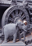 Ornamental temple statue Royalty Free Stock Photography