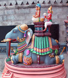 Ornamental temple statue Royalty Free Stock Photo