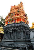 Ornamental temple tower Royalty Free Stock Photography