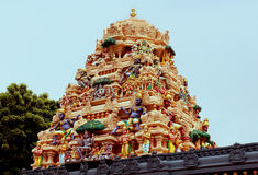 Ornamental temple tower Royalty Free Stock Images