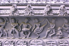 Ornamental temple wall Royalty Free Stock Image