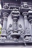 Ornamental temple wall Stock Image