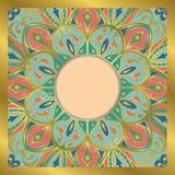 Ornamental tender frame. royalty free illustration