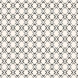 Ornamental texture with small linear rhombuses, thin lines Stock Images