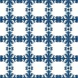 Ornamental Tile Squares Seamless Texture Stock Image