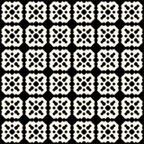 Ornamental tiling seamless pattern. Vector abstract geometric te Stock Image