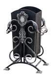 Ornamental urn for rubbish. Royalty Free Stock Image