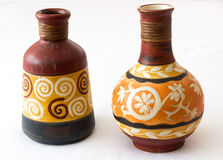 Ornamental vases Royalty Free Stock Images