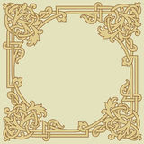 Ornamental Vector Frame Royalty Free Stock Photos