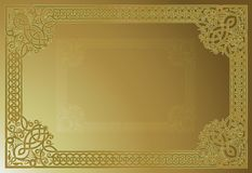 Ornamental Vector Frame. Old fashioned ornamental vector frame Royalty Free Stock Image