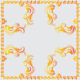 Ornamental vector frame. Royalty Free Stock Photography