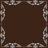 Ornamental vector frame. Stock Photography