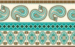 Ornamental vector seamless pattern. Ethnic seamless wallpaper, backdrop. Ornamental vector seamless pattern. Ethnic seamless wallpaper Stock Photography
