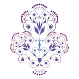 Ornamental vignette Royalty Free Stock Image