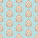 Ornamental wallpaper Stock Image