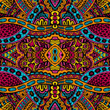 Ornamental vintage ethnic seamless vector pattern Royalty Free Stock Photography
