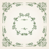 Ornamental vintage rectangular border frame Royalty Free Stock Photo