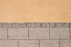 Ornamental  wall cladding background Stock Image