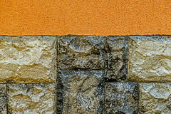 Ornamental wall 6 Stock Images