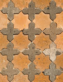 Ornamental wall detail Stock Image