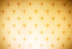 Ornamental wallpaper Stock Photography