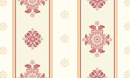 Ornamental wallpaper vector Stock Photos