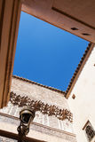 Ornamental walls in Marrakesh Stock Images