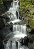 Ornamental Waterfall. Long Exposure of an Ornamental Waterfall - great detail Stock Photo