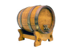 Ornamental wine barrel Stock Photography