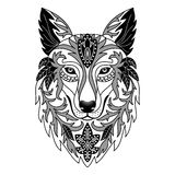 Ornamental Wolf Stock Images