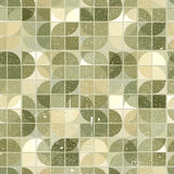 Ornamental worn textile geometric seamless pattern, decorative v Royalty Free Stock Photo