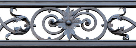 Ornamental Wrought Iron Stock Image