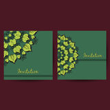 OrnamentalCards Royalty Free Stock Photography